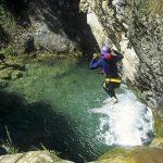 escalade calanques canyon