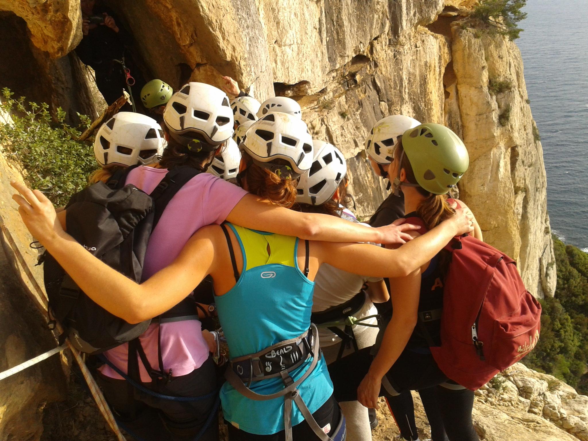 parcours aventure canaille escalade calanques cohesion