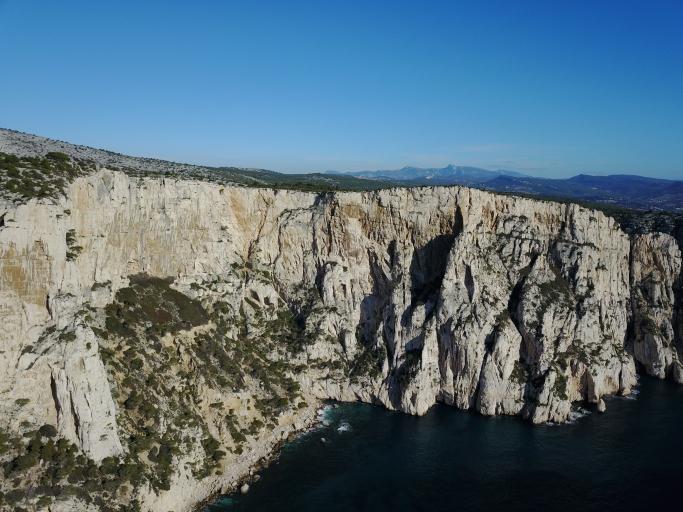 secteurs d'escalade, de grimpe et de randonnée dans les calanques, le devenson