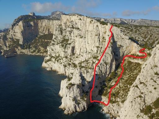escalade grimpe calanques epron ouest de l'eissadon, castelvieil, devenson, en vau, cassis