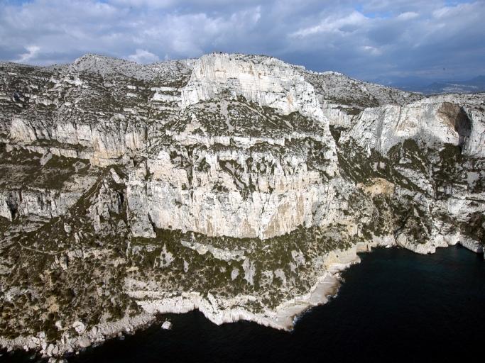 secteurs d'escalade, de grimpe et de randonnée dans les calanques
